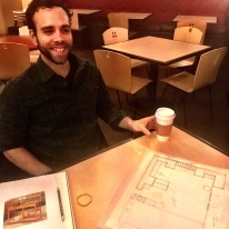 Jeff in our planning stages at 1872