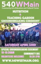 Nutrition & Teaching Garden Groundbreaking Ceremony