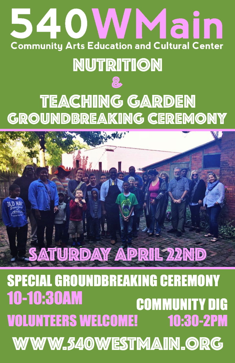 Nutrition & Teaching Garden Groundbreaking Ceremony