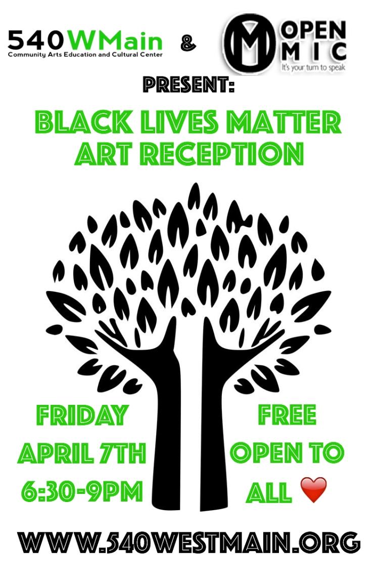 Updated BLM Art Reception