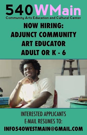 Adjunct Art Educator Poster
