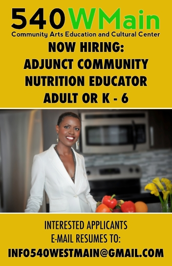 Adjunct Nutrition Educator Poster