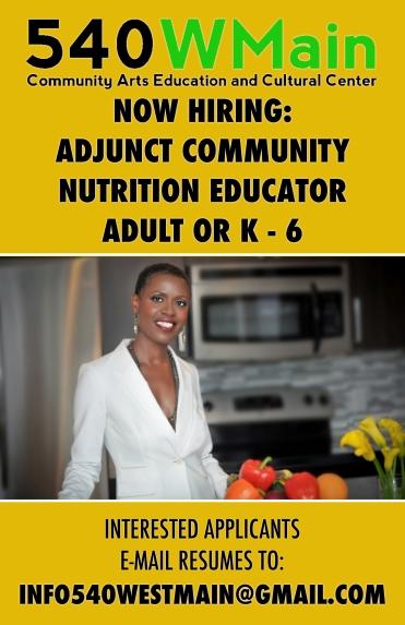 Adjunct Nutrition Educator Poster