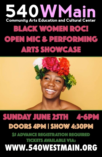 BWR Open Mic & Performing Arts Showcase (Attendees)