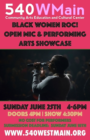 BWR Open Mic & Performing Arts Showcase (Performers)