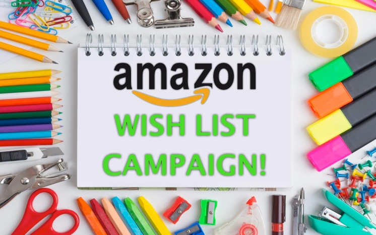 Amazon Wish List Campaign Facebook Banner