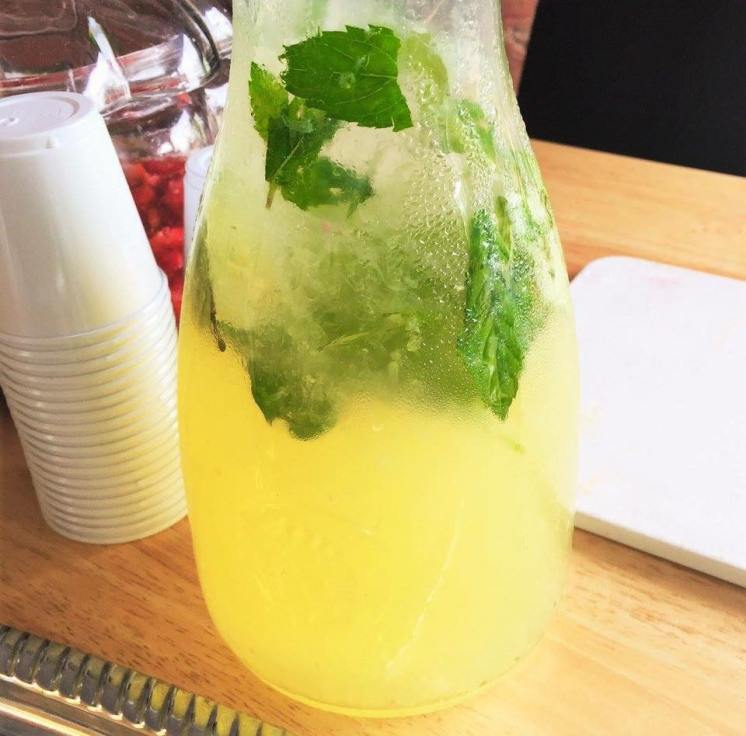 basil lime lemonade