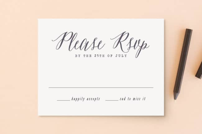 Rsvp Wording On Wedding Invitation: A Wednesday Word From The Director