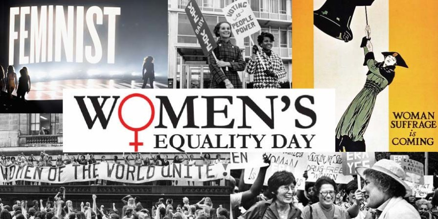 women's equality banner