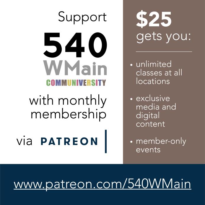 Patreon digital poster