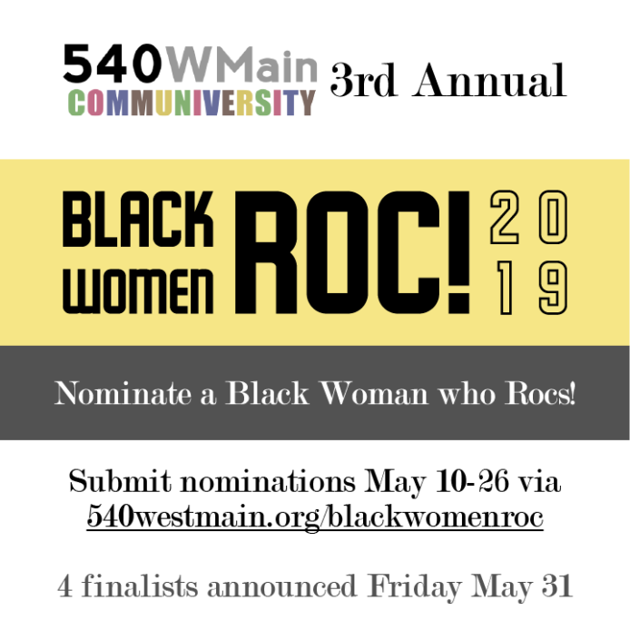 Black Women Roc call for nominations FB post