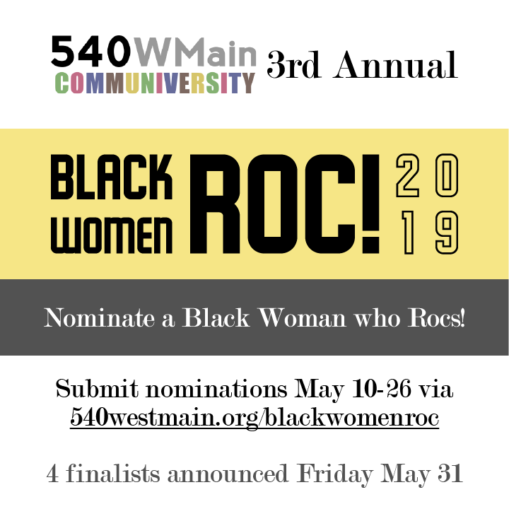 Black Women Roc call for nominations FB post