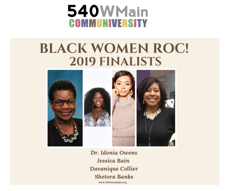 Black WOMEN ROC! FINALISTS 2019