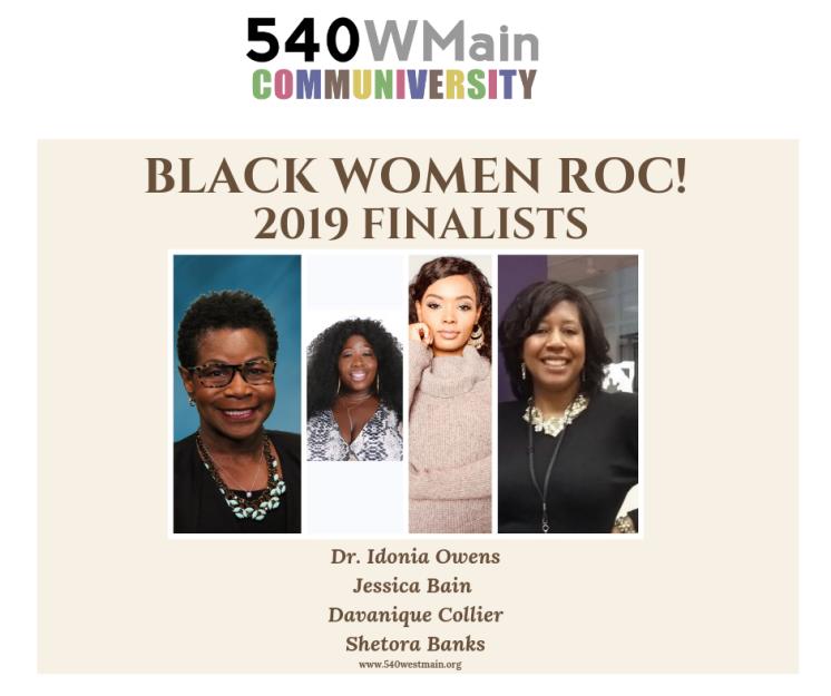Black WOMEN ROC! FINALISTS 2019