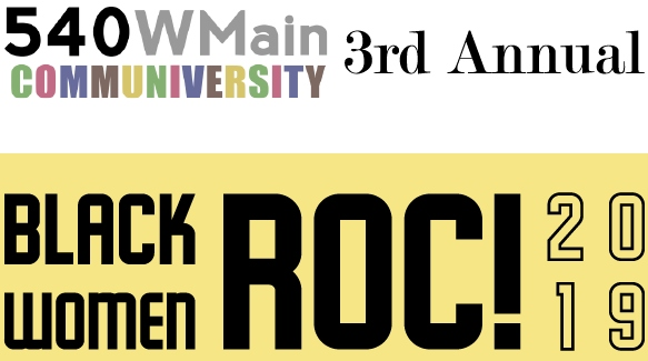 black women roc graphic designed banner