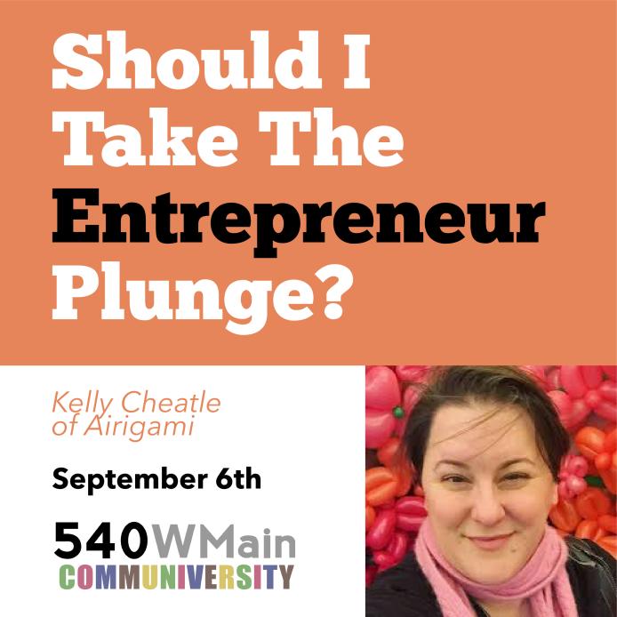 Should I Take The Entrepreneur Plunge social graphic