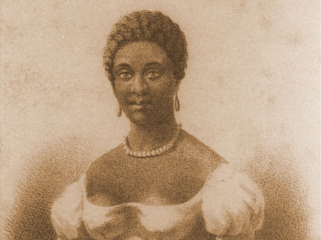 archive photo of phillis wheatley